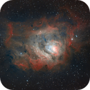M8 Lagoon Nebula w/PixInsight,                                Brett Creider