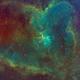 Heart Nebula IC 1805 SHO,                                Jay Kilby