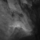 Pelican Nebula - A starless HA Image,                                Teagan Grable