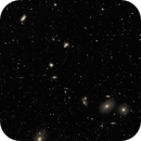 A Study of the Virgo Galaxy Cluster - Part 2: Panel 9 with Markarian's Chain,                                Timothy Martin & Nic Patridge