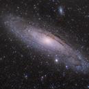 Neubearbeitung 6 Andromeda Galaxie alias M31 LRGB Version,                                Matthias Groß