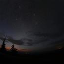 Zodiac light and Meteors,                                Hartmuth Kintzel