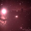 The Horsehead & The Flame Nebula in Orion,                                John O'Neal, NC Stargazer