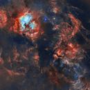 120 Hours of Cygnus / Sadr - 3x3 Mosaic,                                Lancelot365