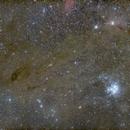 Taurus molecular cloud,                                Nurinniska