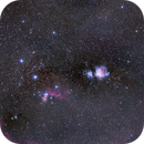 Orion/horsehead/flame widefield,                                Xplode