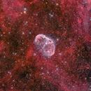 NGC6888 Crescent nebula,                                Johannes Bock