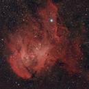 Running Chicken Nebula IC 2944,                                Andrés González