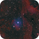 Cygni with surrounding nebula,                                nazarine