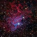 IC405 Flaming Star Nebula,                                Ernesto Arredondo