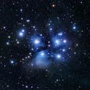 M45 - The Pleiades,                                CrestwoodSky