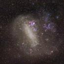 Large Magellanic Cloud - 85mm,                                Frank