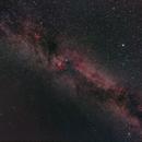 Milky Way (Cygnus),                                simon harding