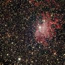 Flaming Star Nebula---IC405,                                Ray Heinle