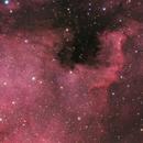 Cygnus Wall & NGC 7000,                                rhedden