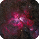 The Carina Nebula in Wide Field,                                Yu-Peng Chan