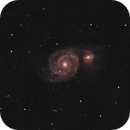 M51 via RASA8 and ASI224MC,                                Eric Watson
