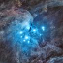 Starless Pleiades (M45),                                Johnny Qiu
