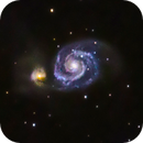 M51 - Whirlpool Galaxy,                                Mike Ingalls