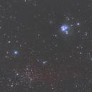 Reflexnebula NGC 7129 & Open Cluster NGC 7142,                                Big_Dipper