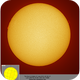 Sun in H-alpha, 20190601,                                Geert Vandenbulcke
