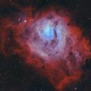 Messier 8 - Lagoon Nebula in Sagittarius,                                Steve Balke