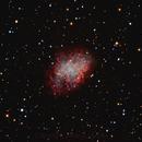 NGC-1952 THE CRAB NEBULA,                                Alfredo Vargas