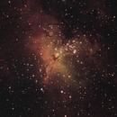 M16 Eagle nebula,                                Maxweeje