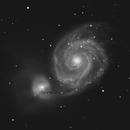 Messier 51 - C11 Edge HD,                                Jean-Marie MESSINA