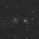 NGC869/884 - Double open cluster - Perseus,                                Emmanuel Fontaine
