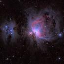 Orion and Running Man Nebulae,                                Pete Bouras