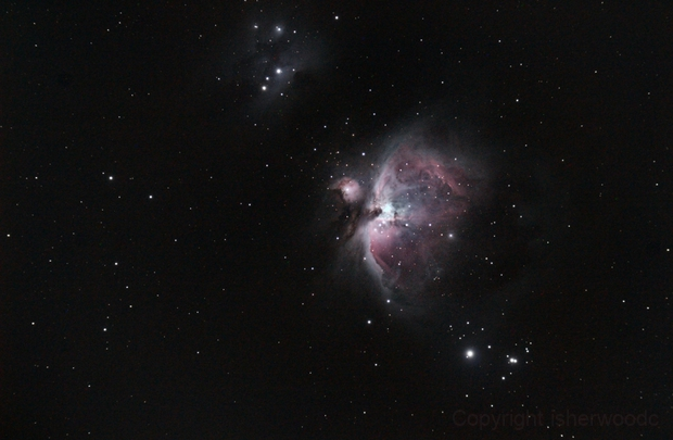 First time Orion M42,                                isherwoodc