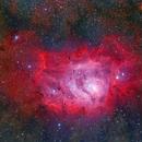 M8 Lagoon nebula,                                Yusuke Satou