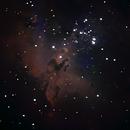 """M16 Eagle Nebula : close up """"Pillars of Creation"""",                                Wanni"""