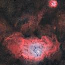Mosaïque M8-M20 HOO,                                astromat89