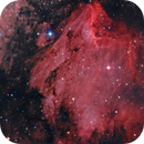 IC5070 - The Pelican Nebula -  RGB+Halfa,                                Jesús M. Vargas