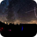 Air Traffic over Couvaloup Observatory,                                Yves-André