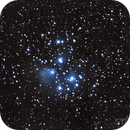 My first takes of Pleiades M45,                                Starlight Hunter