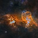 NGC 3576,                                Rodrigo González Valderrama