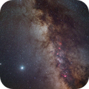 Jupiter and Saturn next to galactic core,                                MrPhoton