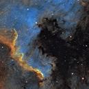 NGC 7000 The Wall,                                Francois_Doussoux