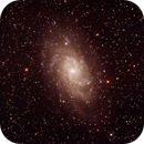 Messier M33 - NGC598 - Triangulum or Pinwheel Galaxy,                                Geoff Scott