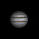 Rotation of Jupiter and Io (14 may 2015, 20:33-22:41, UTC+3),                                Star Hunter