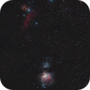 widefield , orion nebula M42 , horsehead nebula , ..........,                                webeve