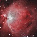 M42 with the Trapezium,                                Prea