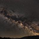 Milky Way over Żywiec Beskids,                                Adam Skrzypek
