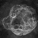 Sh2-240 in 60 Megapixels, Deep Wide-field Ha,                                Jim Lindelien