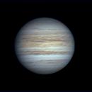 Jupiter and Io 2020 October 21,                                Kevin Parker