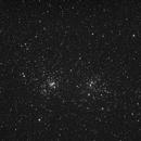 NGC 884 et NGC 869 Le double amas de Persée,                                Obiwan