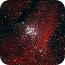 NGC3293 Open CLuster in Carina - The Pendant,                                Djt